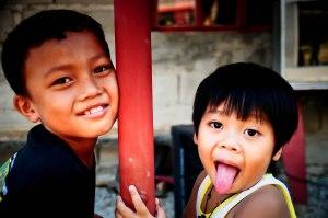 Photo by Bok Pioquid. Christian Service Involvement Program. Ateneo High School