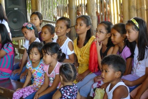 Photo: Fr. Jboy Gonzales SJ. Children from Montalban, Rizal. Not victims of bullies.