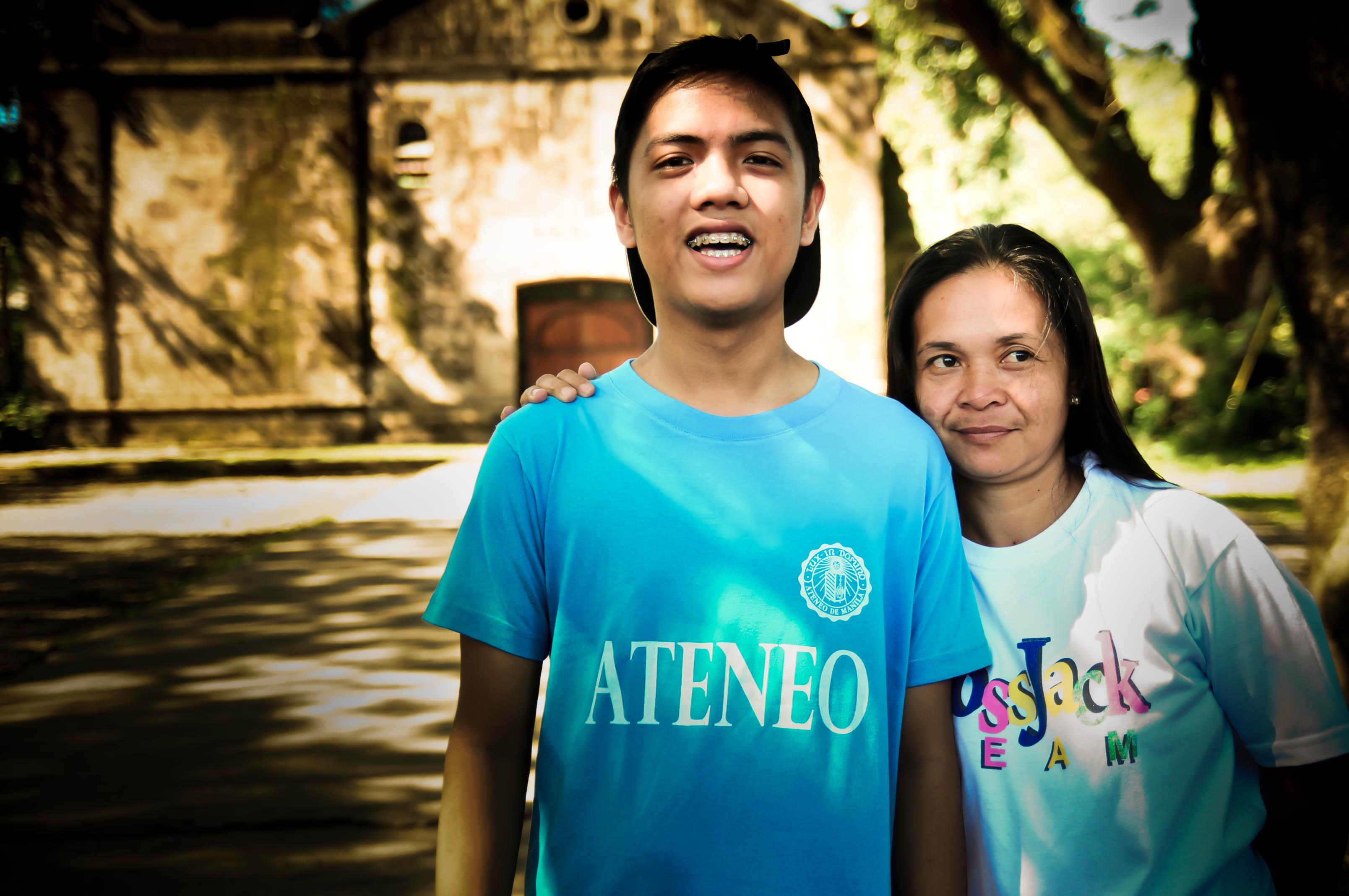 Photo by Bok Pioquid. Ateneo HS' Christian Service Involvement Program
