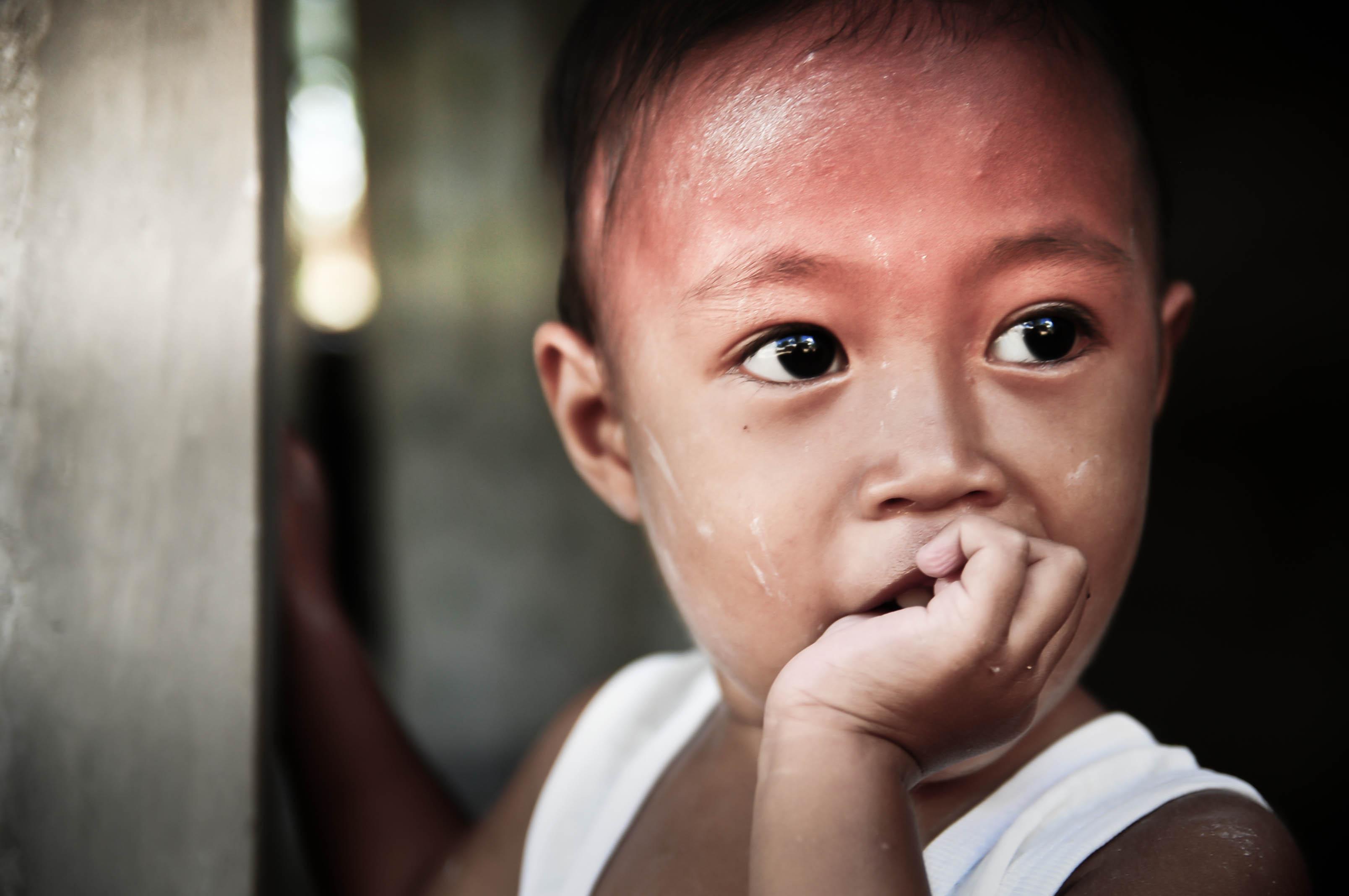 Photo by Bok Pioquid. Ateneo HS' Christian Service Involvement Program.