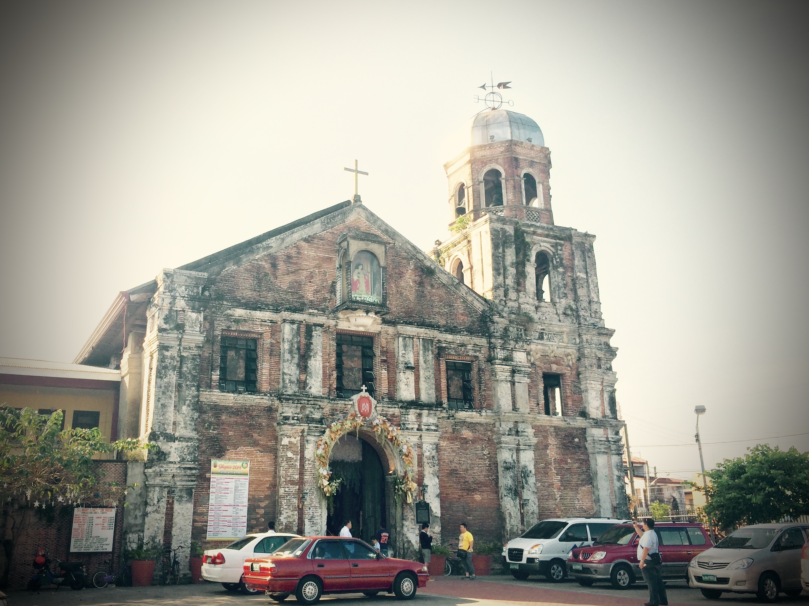 The Church of Mary Magdalene, Kawit, Cavite. Photo: Fr. Jboy Gonzales SJ