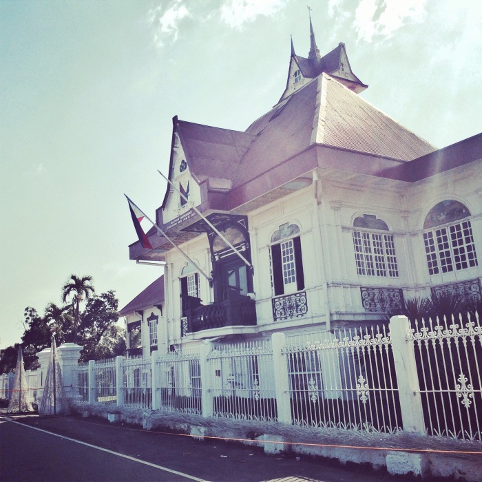 The Balcony and house of Gen. Emilio Aguinaldo, the 1st President of the Republic of the Philippines.