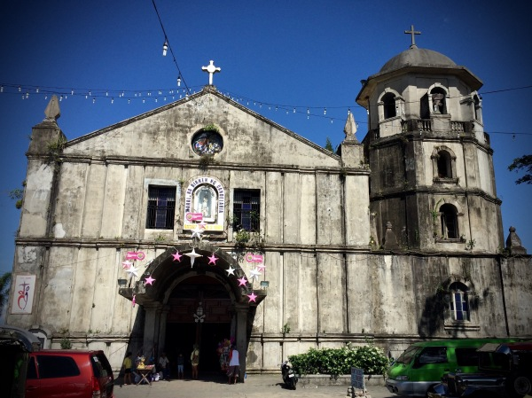 Frontage of the Parish of Our Lady of Candelaria, Silang, Cavite. Photo: Fr. Jboy Gonzales SJ
