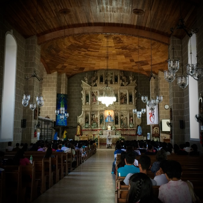 The Interior of the Church of Our Lady of Candelaria, Silang, Cavite. Photo: Fr. Jboy Gonzales SJ