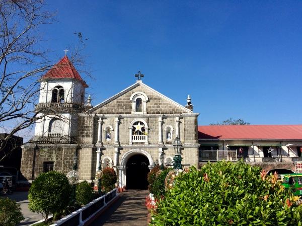 Frontage of San Gregorio Magno, Indang, Cavite. Photo: Fr. Jboy Gonzales SJ