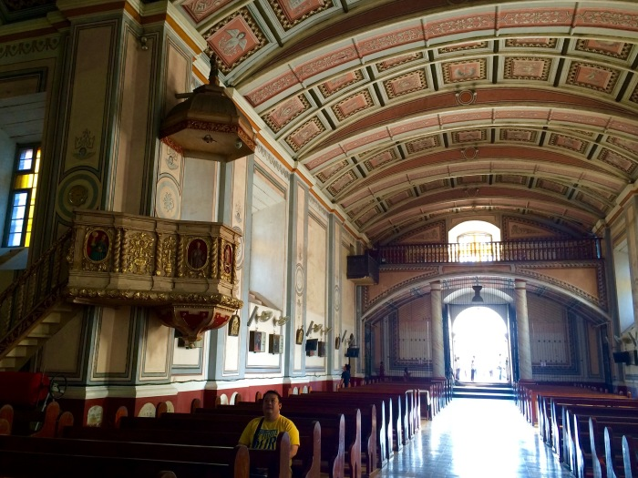 Interior, San Gregorio Magno Church, Indang, Cavite. Photo: Fr. Jboy Gonzales SJ