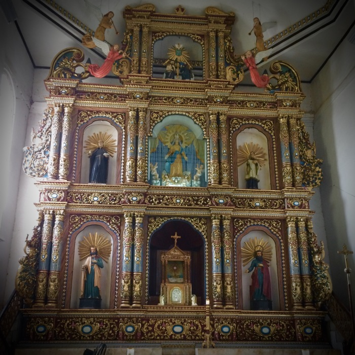 Retablo of Our Lady of the Assumption, Maragondon, Cavite. Photo: Fr. Jboy Gonzales SJ