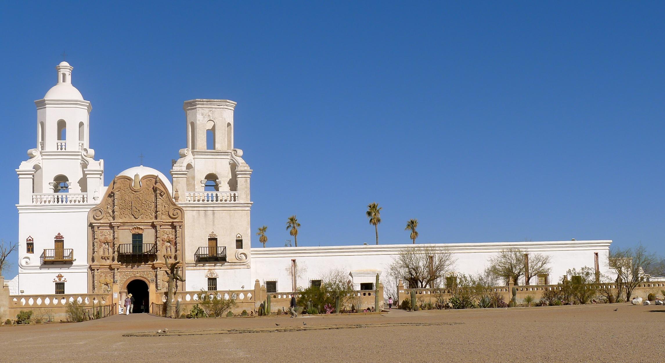 Mission San Xavier del Bac, Tucson, Arizona. Photo: Fr. Jboy Gonzales SJ, January 2011