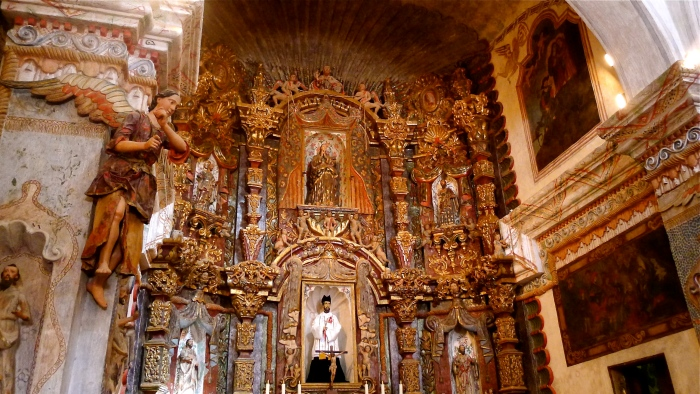 The altar of the Mission San Xavier del Bac. Photo: Fr. Jboy Gonzales SJ, January 2011