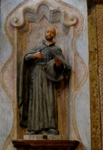 St. Ignatius of Loyola at the altar of Mission San Xavier del Bac. Photo: Fr. Jboy Gonzales SJ, January 2011