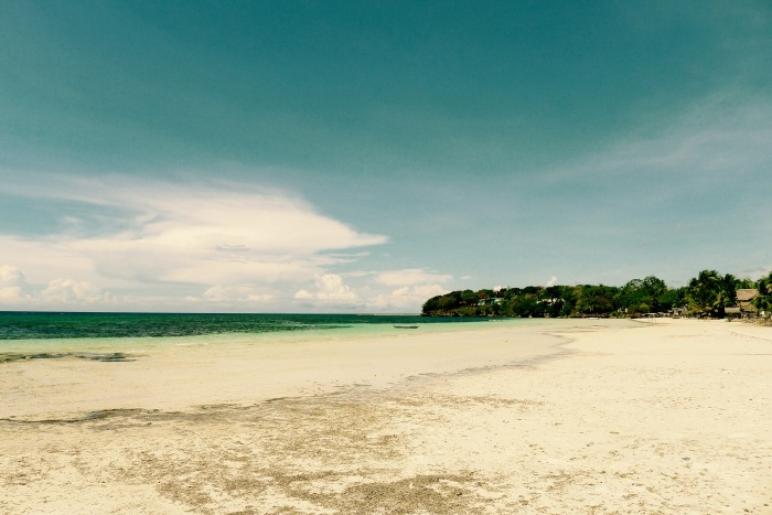 This is the white sand beach that will greet you when you arrive at the port of Siquijor. Photo by Fr. Jboy Gonzales SJ