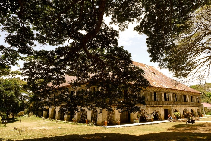 The Lazi Convent, Siquijor Photo: Fr. Jboy Gonzales SJ 14 April 2015