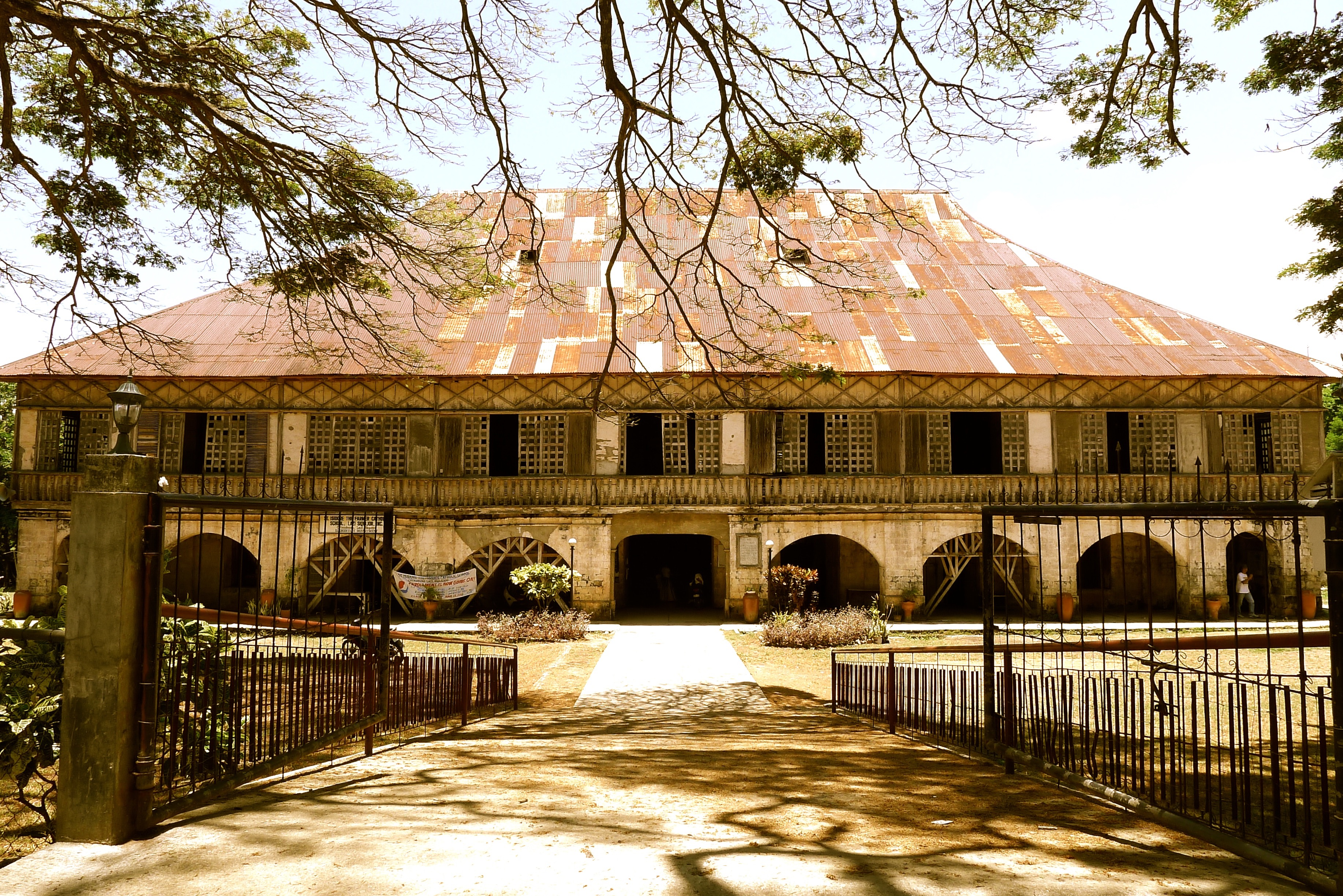 The Lazi Convent is the largest and oldest convent in Asia. Photo: Fr. Jboy Gonzales SJ 14 April 2015