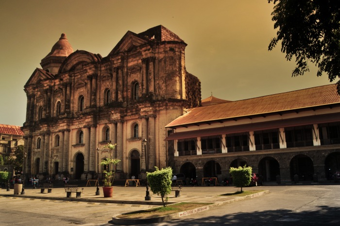 St. Martin de Tours, Taal, Batangas. Photo: Bok Pioquid