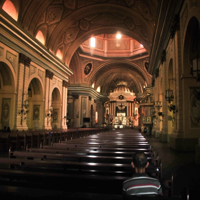 The Cathedral of St. Martin of Tours, Taal, Batangas. Photo: Bok Pioquid