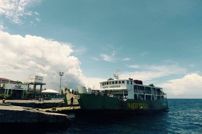 The port of Dumaguete. Photo: Fr. Jboy Gonzales SJ