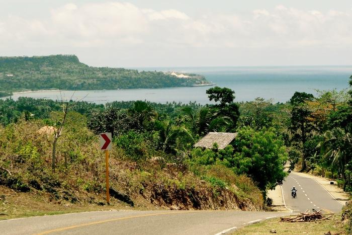 Scenic Lazi Bay, Siquijor. Photo: Fr. Jboy Gonzales SJ 14 April 2015
