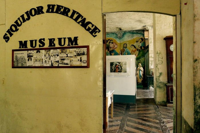 The entrance to the Lazi Museum at the 2nd floor of the Convent. You are not allowed to take photos inside. Photo: Fr. Jboy Gonzales SJ 14 April 2015