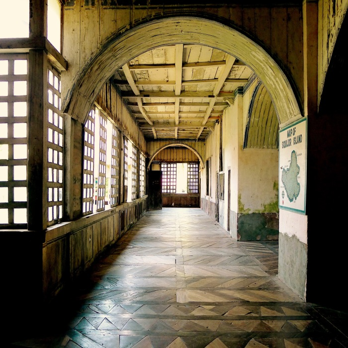 You can imagine Augustine Recollect friars walking to and fro in this corridor. Photo: Fr. Jboy Gonzales SJ 14 April 2015