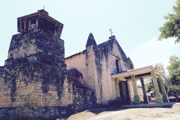 The belltower of the Parish of Our Lady of Providence, Maria, Siquijor. Photo: Fr. Jboy Gonzales SJ