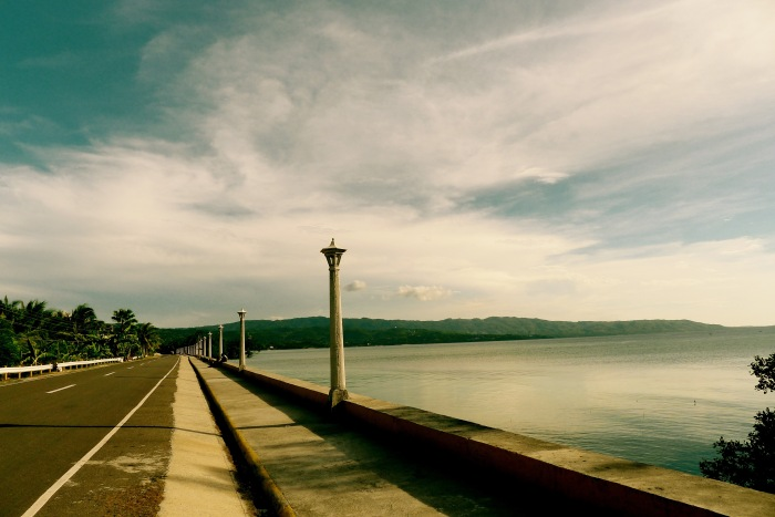This is a beautiful boulevard along the circumferential road between the towns of Enrique Villanueva and Larena, Siquijor. Photo: Fr. Jboy Gonzales SJ