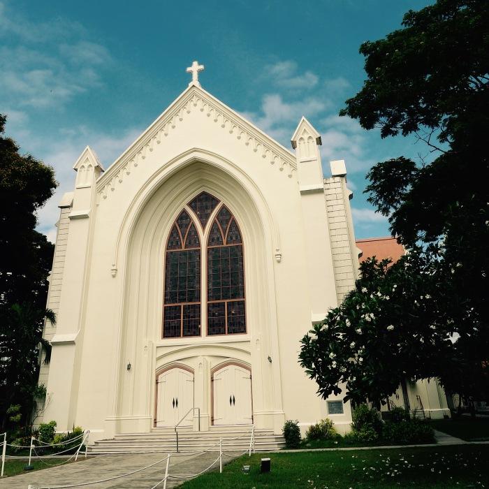 The University Church, Silliman University. Photo: Fr. Jboy Gonzales SJ