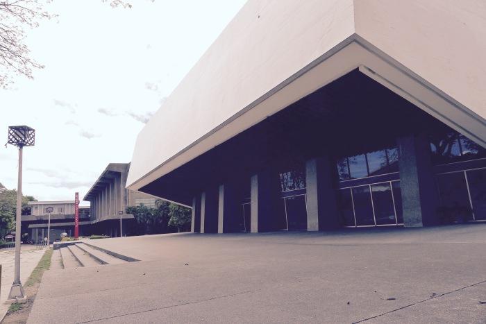 The Luce Auditorium, Silliman University. Photo: Fr. Jboy Gonzales SJ