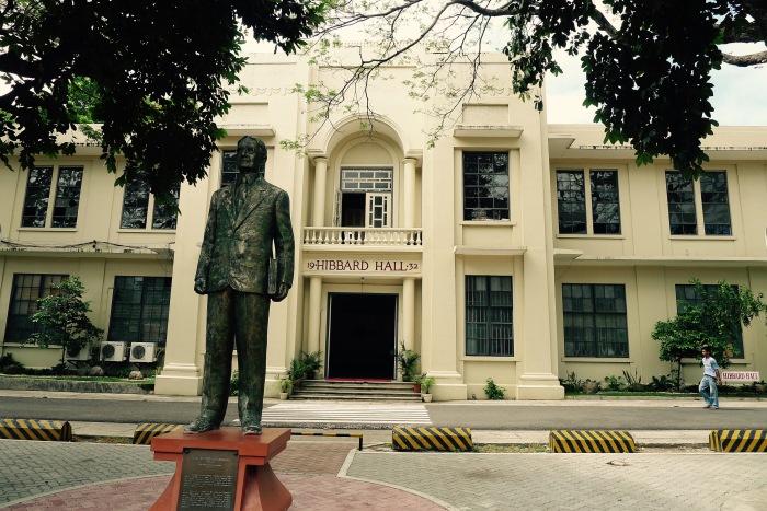 Hibbard Hall, Silliman University. Photo: Fr. Jboy Gonzales SJ
