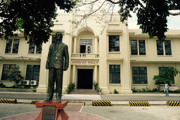 Hibbard Hall, Silliman University. Photo: Fr. Jboy Gonzales SJ