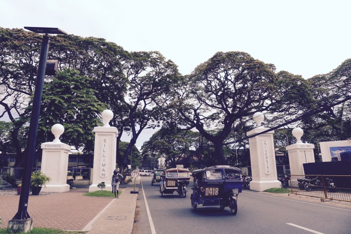 The portals of Silliman University. Photo: Fr. Jboy Gonzales SJ
