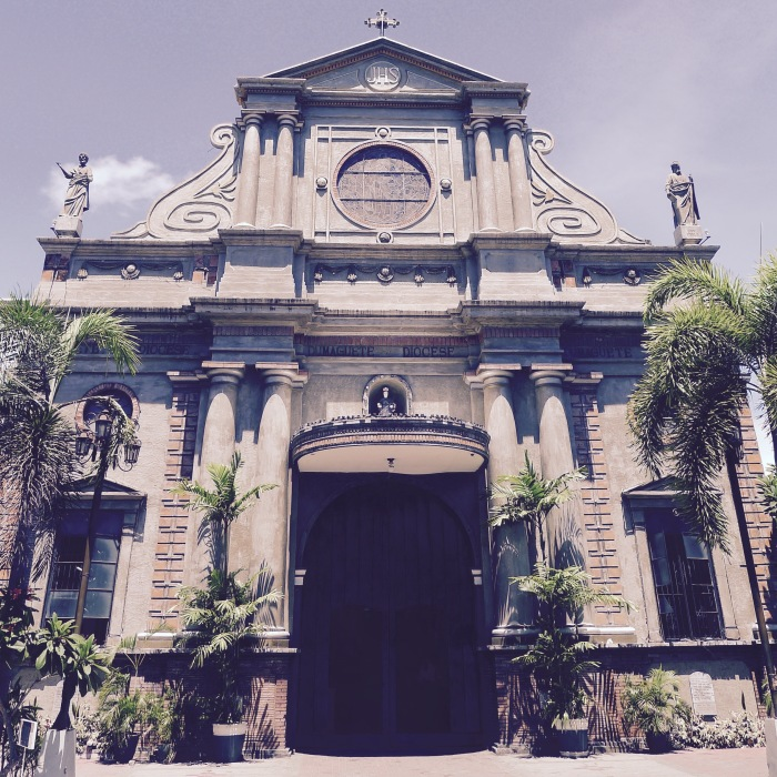 St. Catherine the Great Cathedral, Dumaguete City. Photo: Fr. Jboy Gonzales SJ