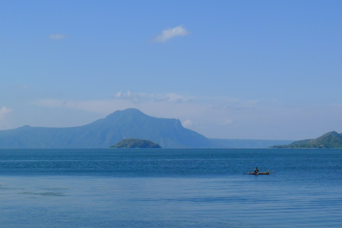 Taal Lake with the view of Bubuin and Napayung Island, Batangas. Photo: Jboy Gonzales SJ