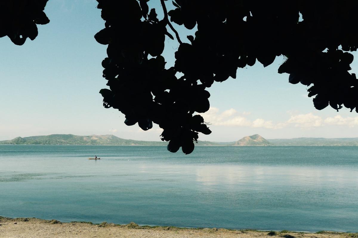 Taal Volcano from Balai Isabel, Talisay, Batangas. Photo: Jboy Gonzales SJ