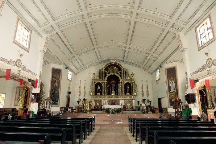 The interior of San Geronimo Church, Talisay, Batangas. Photo: Jboy Gonzales SJ