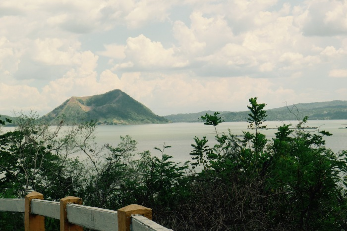 Taal Volcano from Caloocan, Talisay, Batangas. Photo: Jboy Gonzales SJ