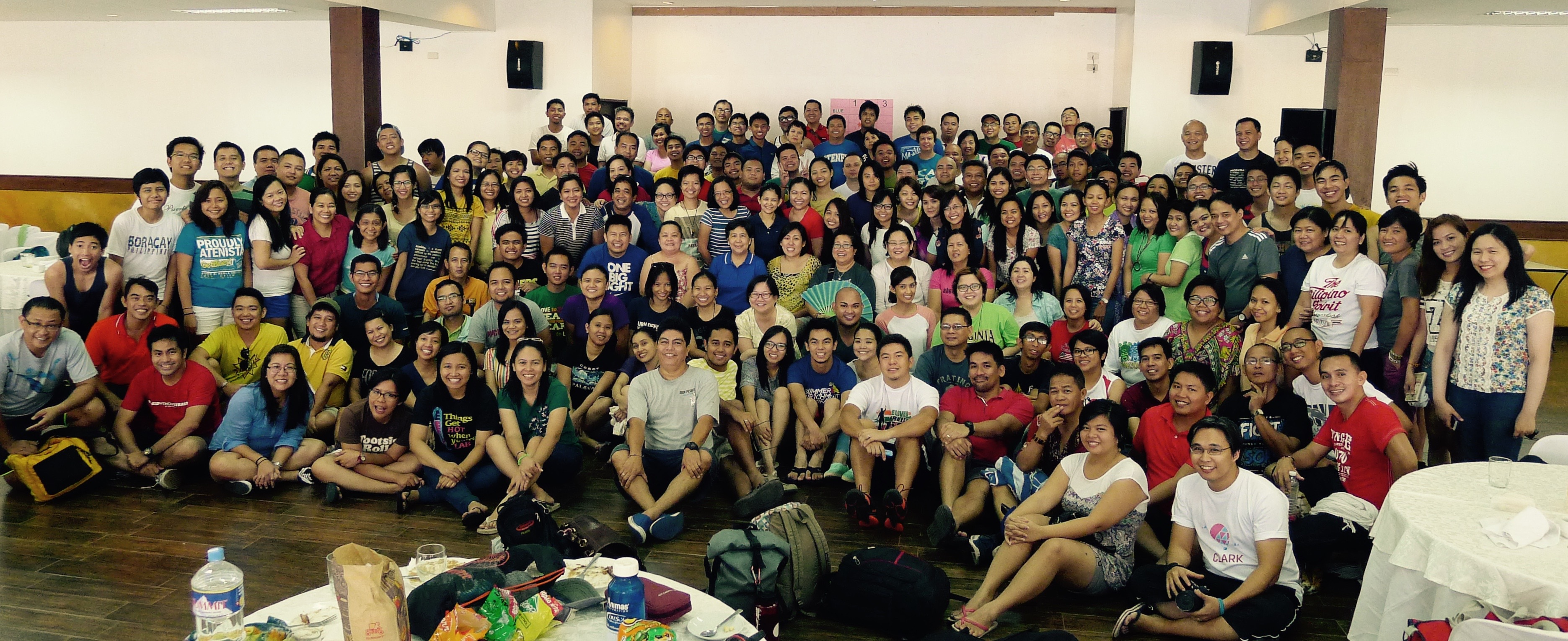 Our final photo session together as one unit: The AJHS and AHS community. Photo: JBoy Gonzales SJ