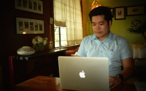 Report on the Ateneo HS' reflection on our social media life. Photo: Fr. JBoy Gonzales SJ