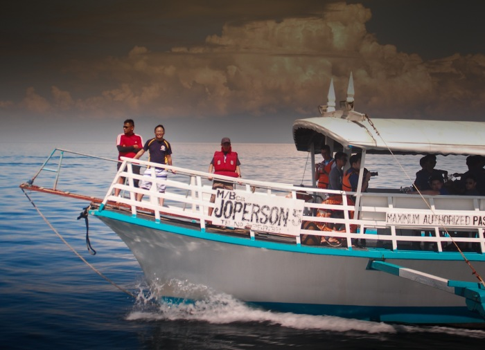 M/B Joperson Boat to Samal Island