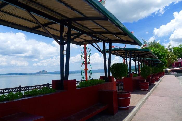 The boulevard at the Talisay Public Market. Photo: Jboy Gonzales SJ