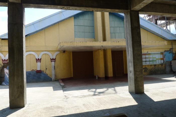On construction: Immaculate Concepcion Parish, Laurel, Batangas. Photo: Jboy Gonzales SJ