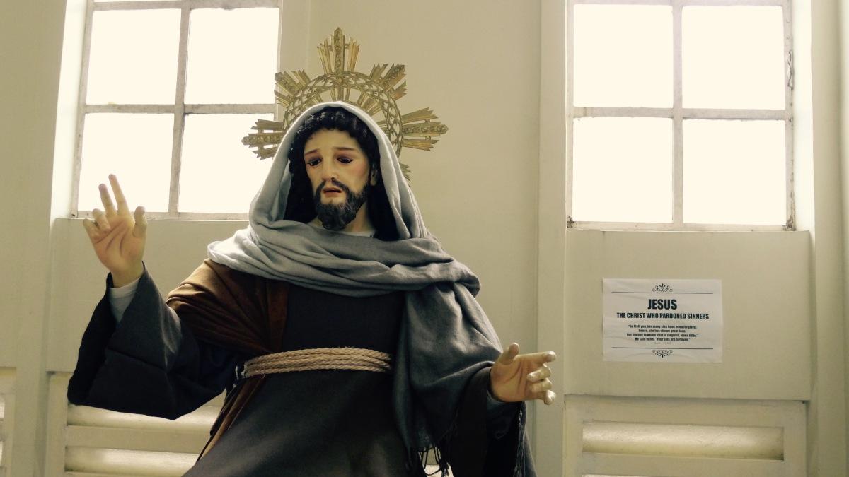 The Christ Who Pardoned Sinners Photo: Fr. JBoy Gonzales SJ