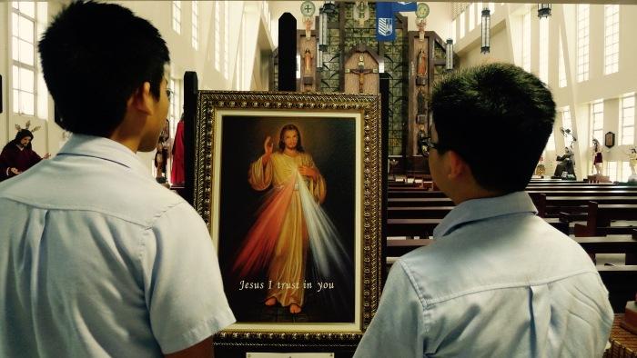 Jesus, the King of Mercy. Photo: Fr. Jboy Gonzales SJ