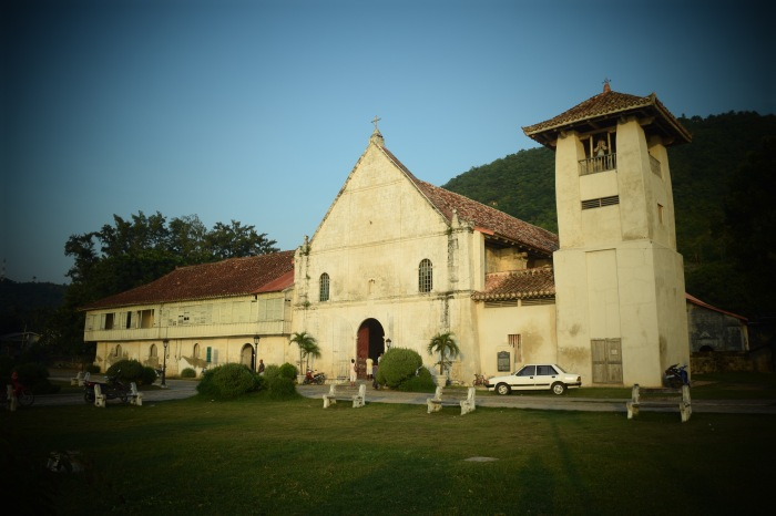 The old Catholic Church of Boljoon, Cebu. 23 August 2015. Photo: Fr. JBoy Gonzales SJ