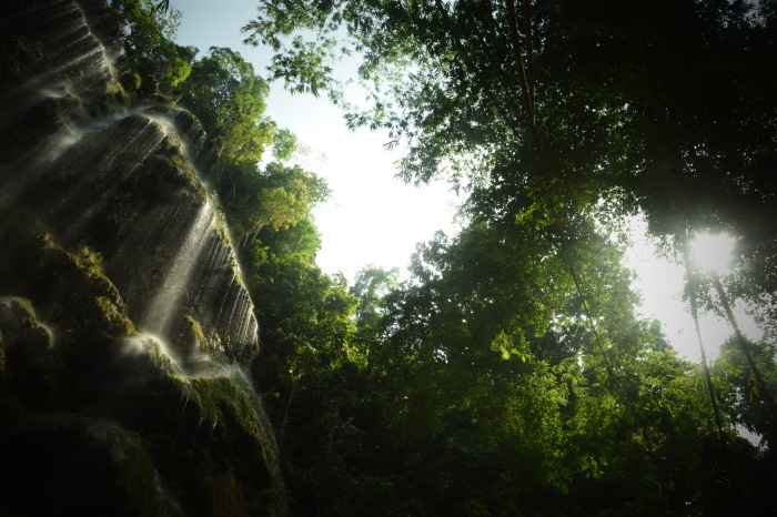 Tumalog Falls at noon. Oslob, Cebu. 23 August 2015 Photo: Fr. Jboy Gonzales SJ
