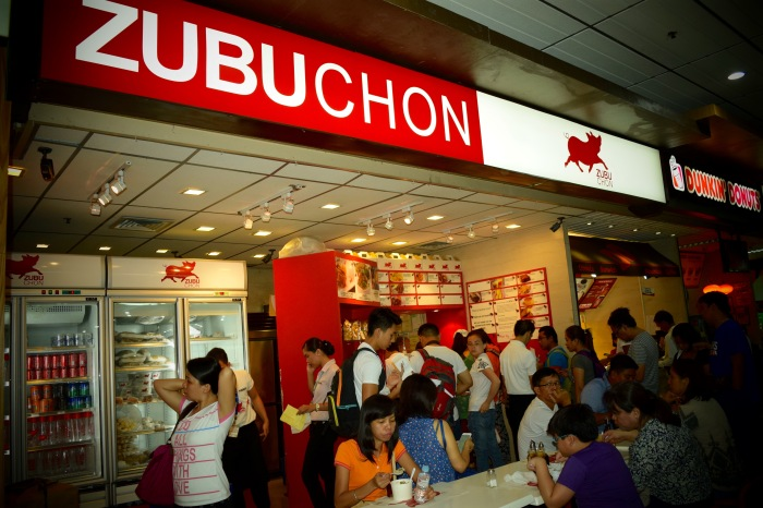 Zubuchon's stall at the Cebu International Airport is a haven for those who would like to bring Cebu's lechon home. Photo: Fr. Jboy Gonzales SJ