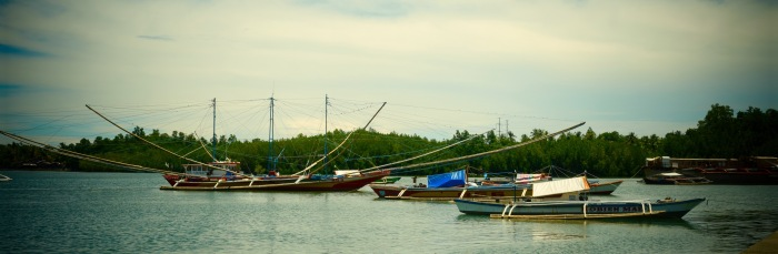 Fishing boats, Jasaan, Misamis Oriental. Photo: Fr. Jboy Gonzales SJ