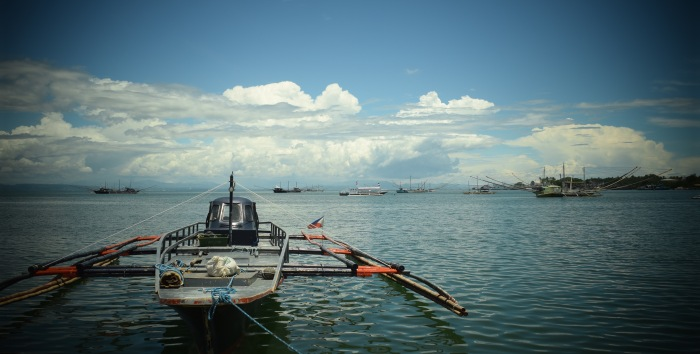Fishing boat, Jasaan, Misamis Oriental. Photo: Fr. Jboy Gonzales SJ