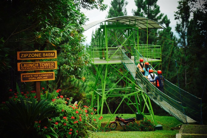 The last ride is Asia's longest dual zipline. PHoto: Fr. Jboy Gonzales SJ