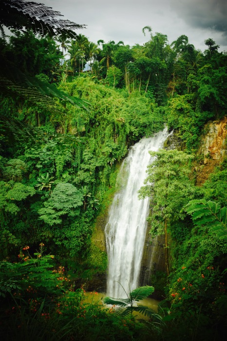 Waterfalls along the road to Malaybalay, Bukidnon. PHoto: Fr. Jboy Gonzales SJ
