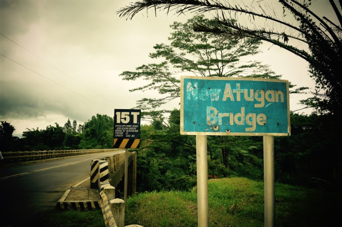 Atugan Bridge, Bukidnon. PHoto: Fr. Jboy Gonzales SJ
